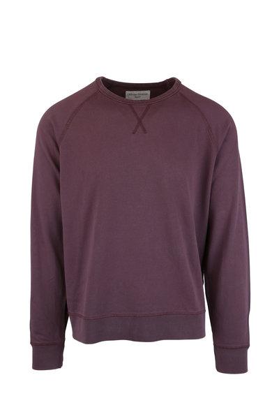 Officine Generale - Clement Mauve Cotton Sweater