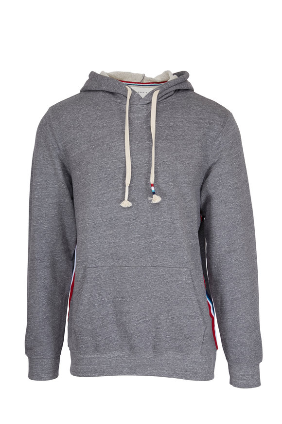 Sol Angeles Sol Gray Side Striped Hoodie