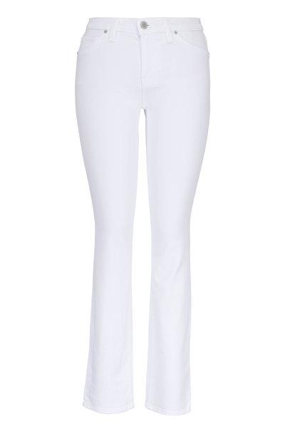 Hudson Clothing - Nico White Grommet Detail Ankle Jean