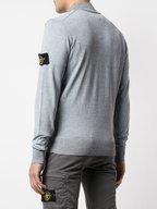 Stone Island - Gray Spray Full Zip Cardigan