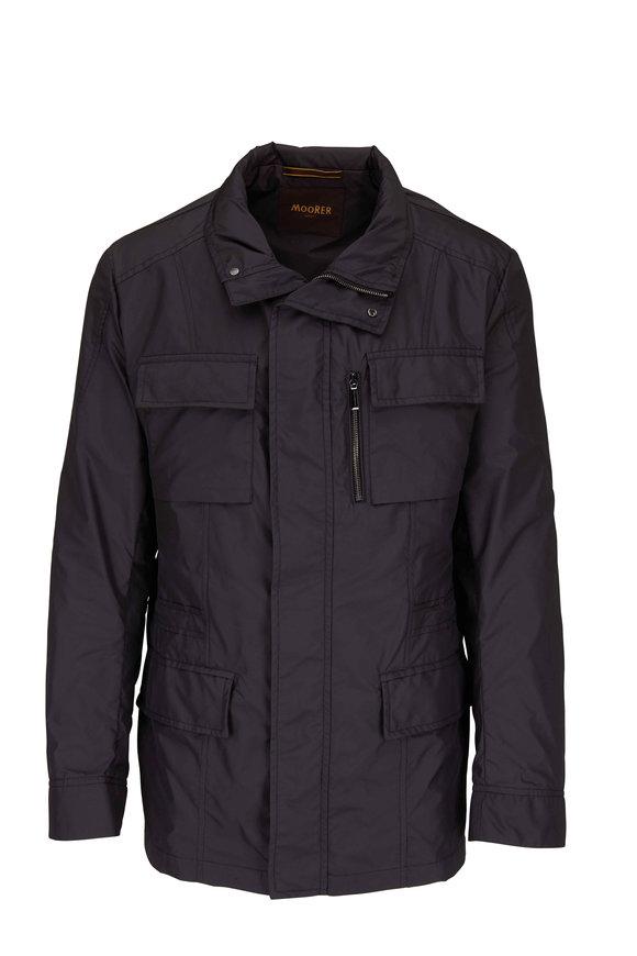 Moorer Charcoal Gray Field Jacket