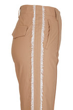 Dorothee Schumacher - Papertouch Ease Brown Semi-Loose Pant