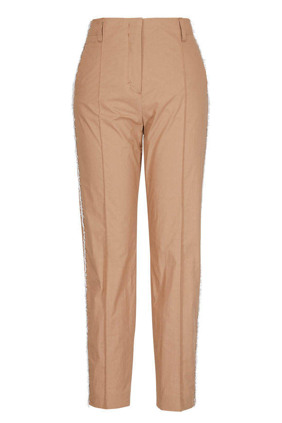 Dorothee Schumacher Papertouch Ease Brown Semi-Loose Pant
