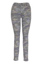 Hudson Clothing - Barbara Camo High Waist Super Skinny Pant