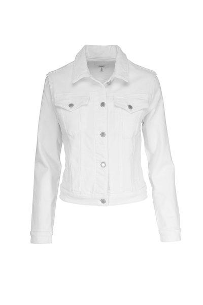 Hudson Clothing - White Trucker Denim Jacket