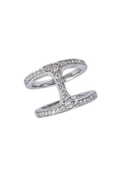 Hoorsenbuhs - 18K White Gold Dame Diamond Phantom Ring