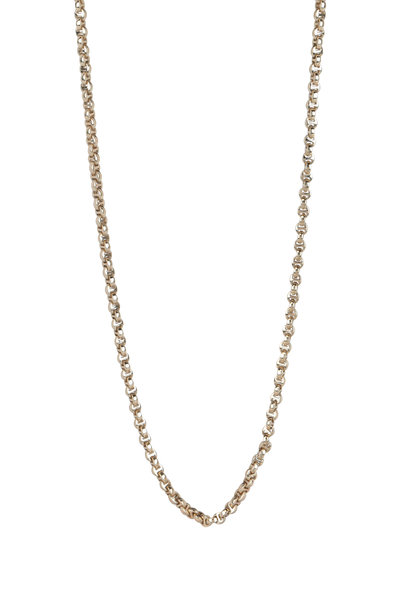 Hoorsenbuhs - 18K Yellow Gold Micro Link Chain Necklace
