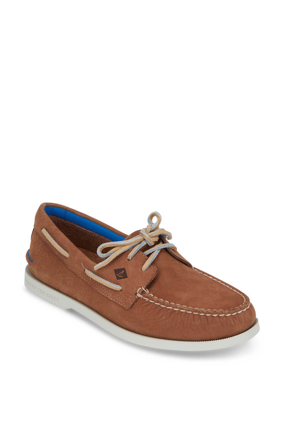 Sperry Authentic Original Tan Plush Washable Boat Shoe