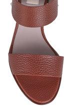 Valentino Garavani - Rockstud Tan Leather Sandal, 85mm