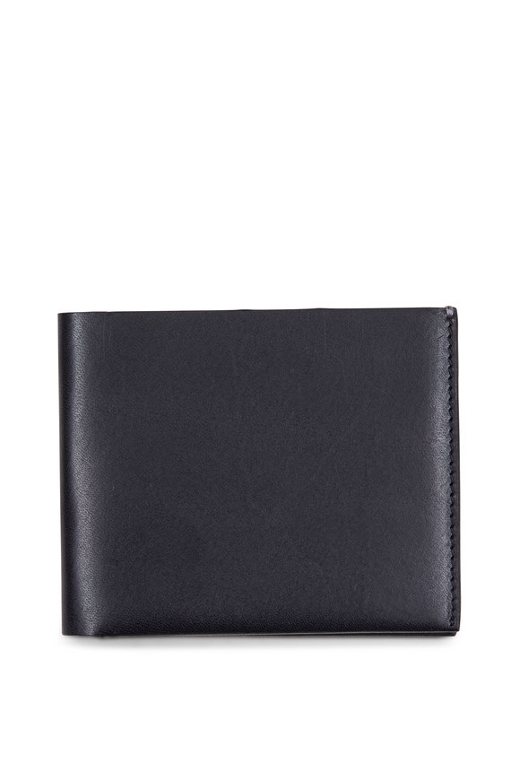 Troubadour Classic Black Bill Fold Wallet