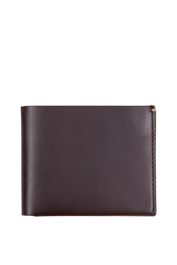 Troubadour Classic Brown Leather Bill-Fold Wallet