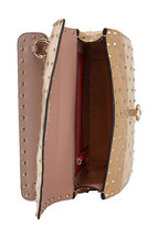 Valentino Garavani - Rockstud Spike It Poudre Colorblock Quilted Bag