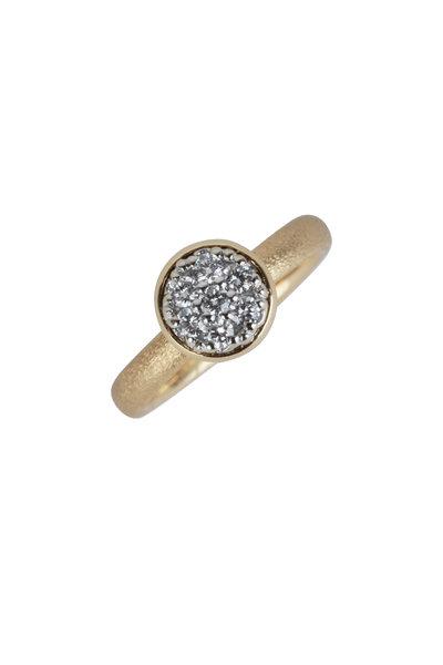 Aaron Henry - 18K Yellow Gold Diamond Ring
