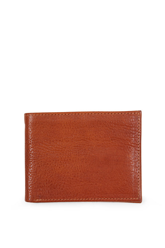 Moore & Giles Saddle Brown Bi-Fold Wallet