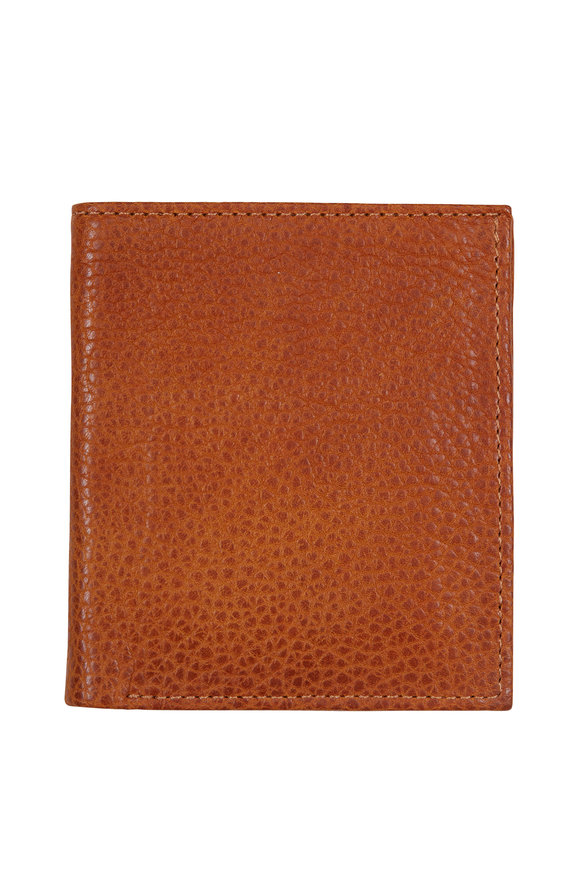 Moore & Giles Saddle Brown Leather Compact Wallet