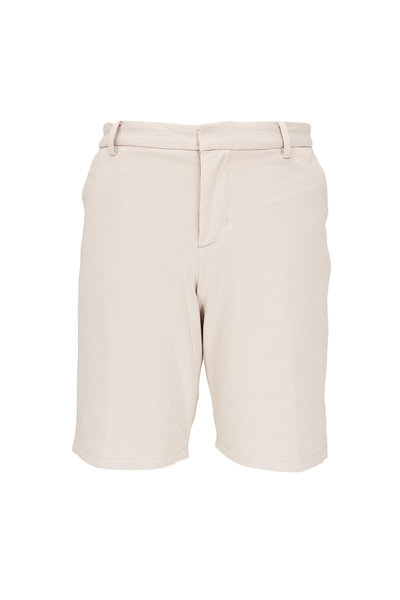 Swet Tailor - Tan Cotton Knit Everyday Shorts