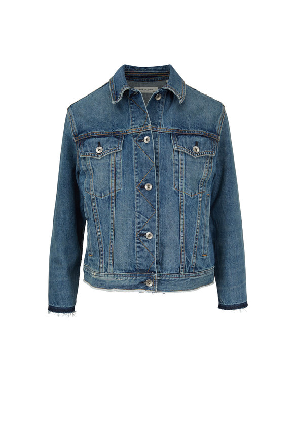 Rag & Bone Dana Denim Oversized Jacket