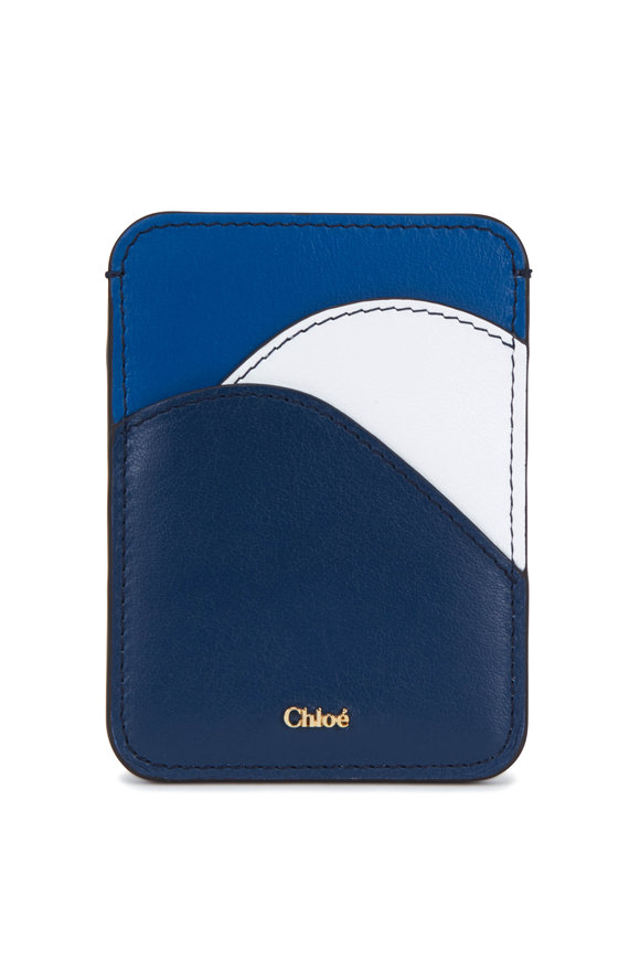 Chloé Eclipse Blue Leather Card Case