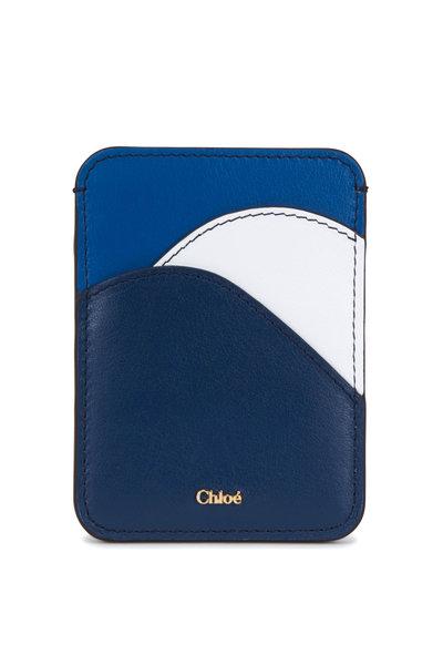 Chloé - Eclipse Blue Leather Card Case