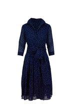 Samantha Sung - Audrey 2 Admiral Blue Mini Star Belted Dress