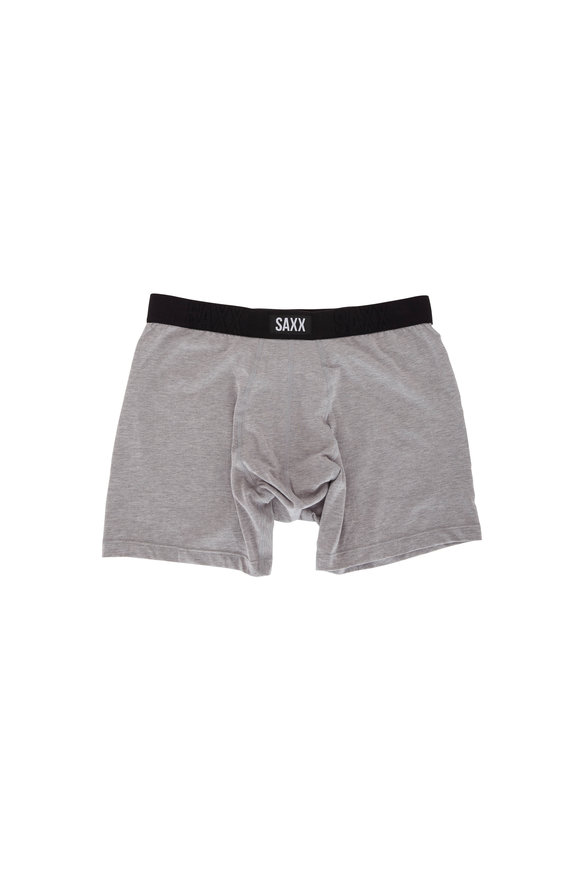 Saxx Underwear Undercover Light Gray Boxer Brief