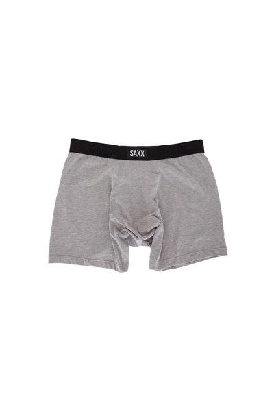 Saxx Underwear - Undercover Light Gray Boxer Brief