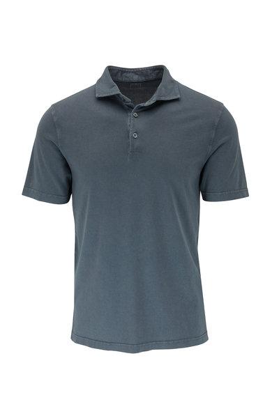 Fedeli - Charcoal Dark Gray Polo