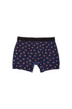 Saxx Underwear - Vibe Navy Hot Dog Printed Boxer Brief