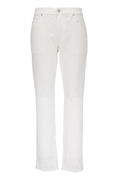 Hudson Clothing - Blake Off-White Slim Straight Jean