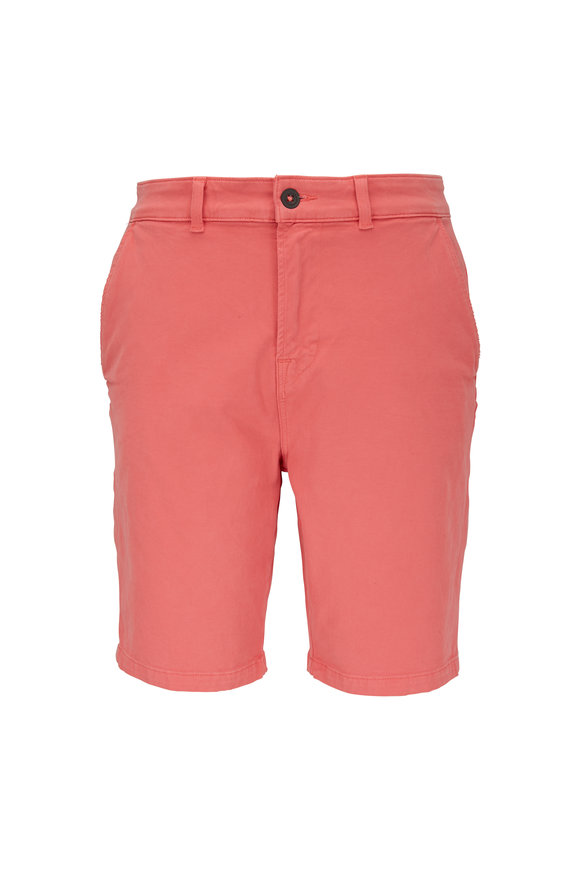 Hudson Clothing Vintage Red Chino Shorts