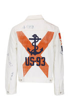 Polo Ralph Lauren - White Embellish Denim Trucker Jacket