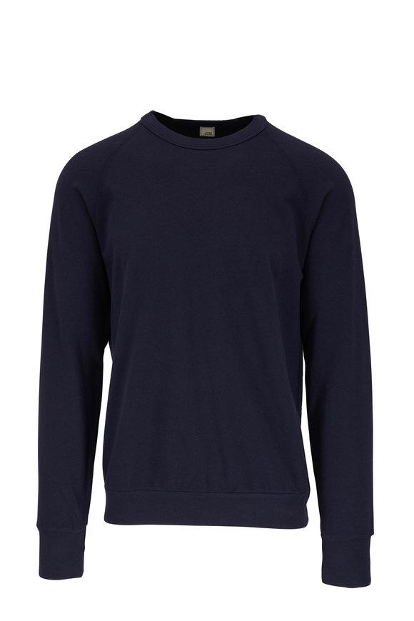 Swet Tailor Navy Blue Raglan Sweatshirt