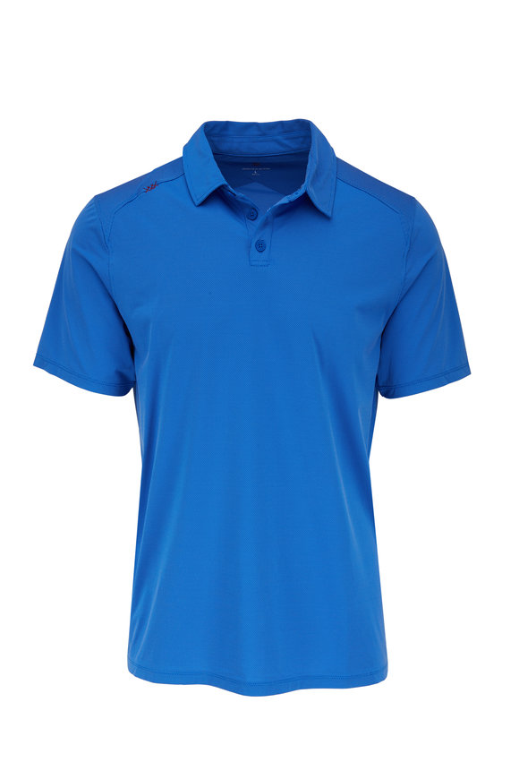 Rhone Apparel Commuter Royal Blue Sport Polo