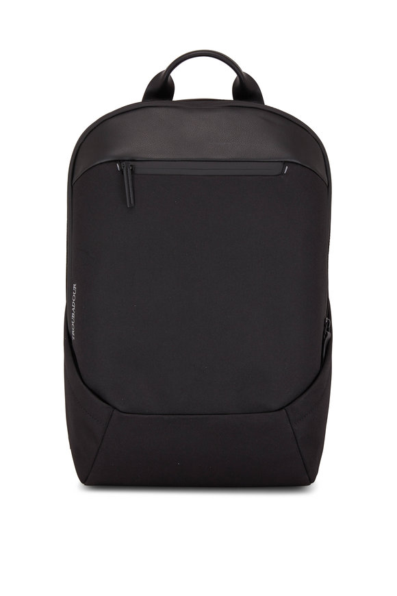 Troubadour Apex Black All Weather Tech Rucksack