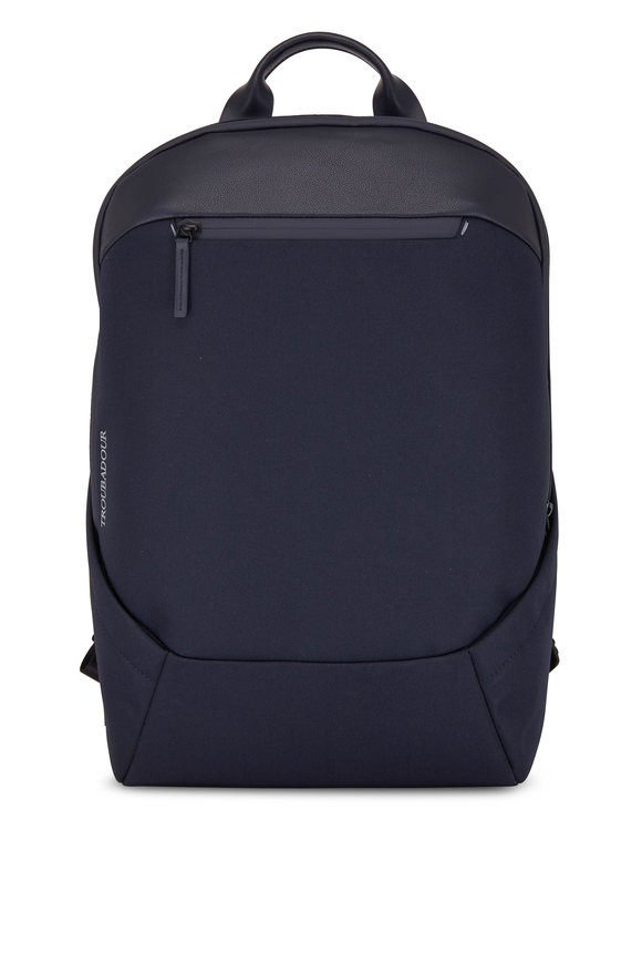 Troubadour Apex Dark Navy All Weather Tech Rucksack