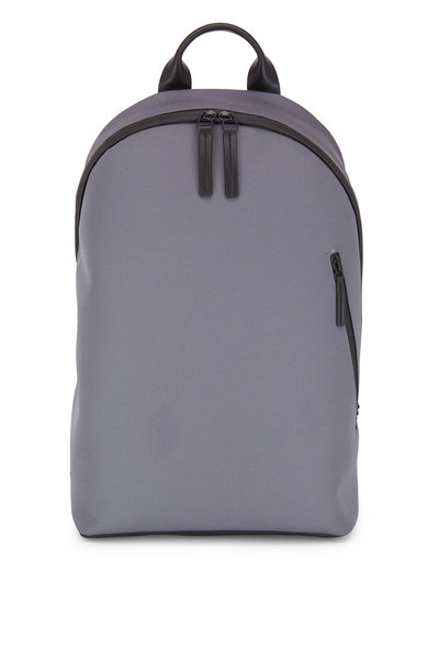 Troubadour - Off Piste Dark Gray Weaved Nylon Rucksack