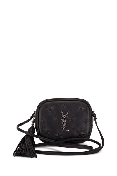 Saint Laurent - Monogram Black Star Embossed Blogger Crossbody