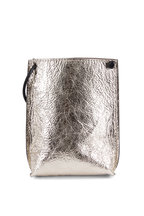 B May Bags - Champagne Foil Leather Cell Pouch
