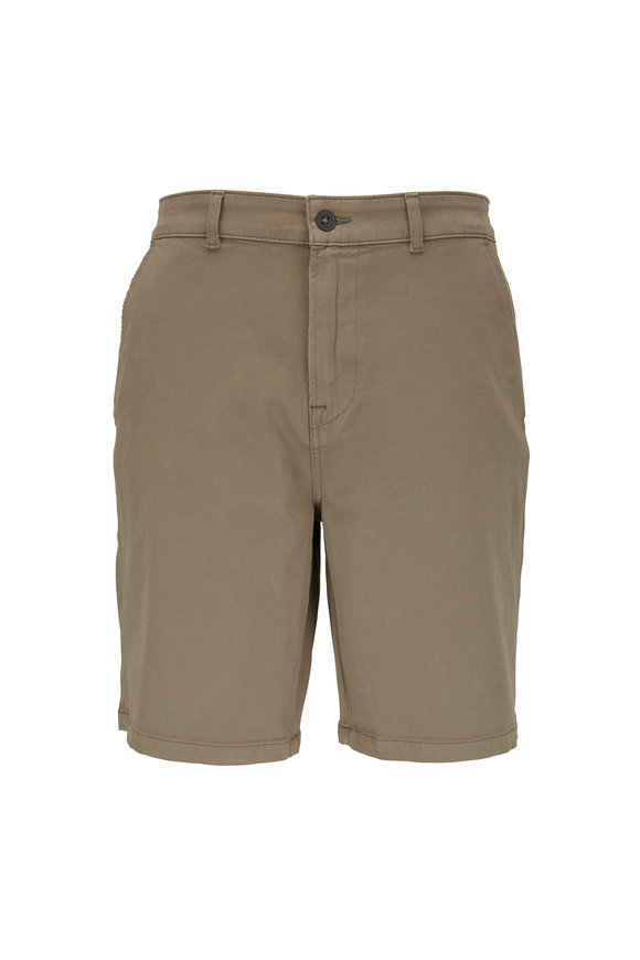 Hudson Clothing Dusty Olive Chino Shorts