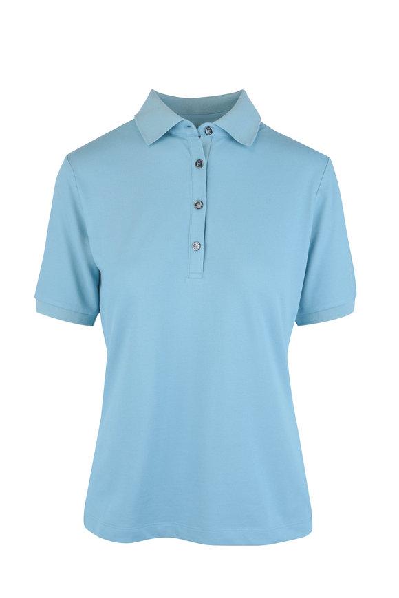 Bogner Nell Light Blue Polo