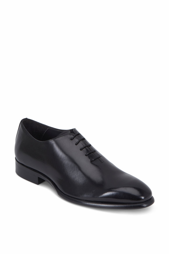 To Boot New York Forte Black Leather Oxford