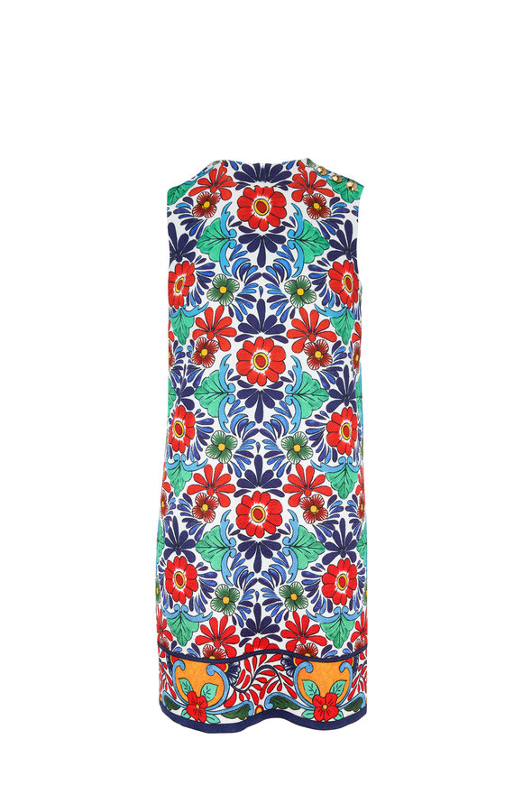 Escada Diarra Fantasy Floral Printed Sheath Dress