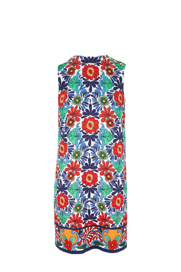 6b28be5cae721 Escada Diarra Fantasy Floral Printed Sheath Dress