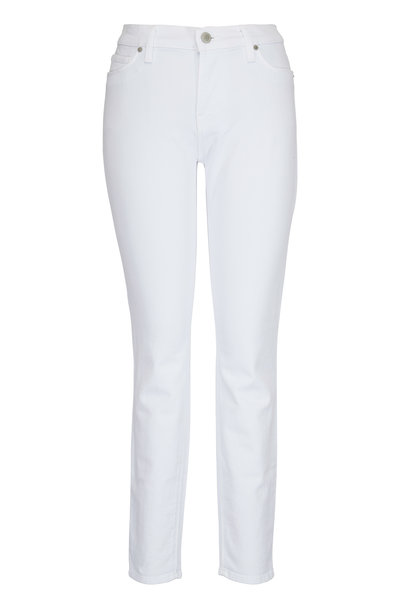 Hudson Clothing - Nico White Mid-Rise Ankle Jean