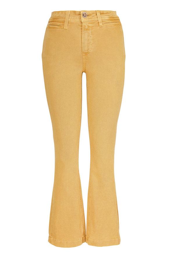 Paige Denim Colette Vintage Dandelion Crop Flare Jean