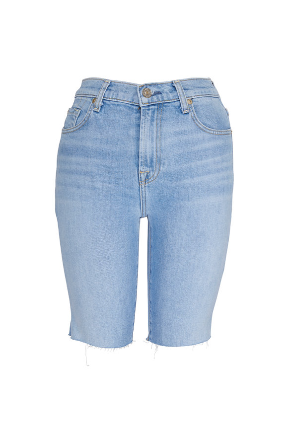 7 For All Mankind Bermuda Cut-Off Shorts