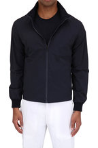 Z Zegna - Navy Blue Lightweight Jacket