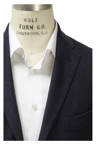 Boglioli - Midnight Blue Wool Sportcoat