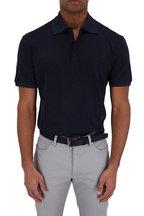 Ermenegildo Zegna - Navy Cotton Polo