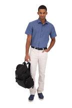 Ermenegildo Zegna - Chambray Linen Short Sleeve Sport Shirt